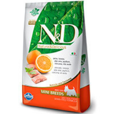 Natural and Delicious Grain Free Canine Pescado y Naranja Adult Mini