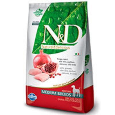 Natural and Delicious Grain Free Canine Pollo y Granada Adult Medium