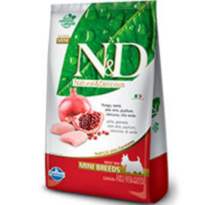 Natural and Delicious Grain Free Canine Pollo y Granada Adult Mini