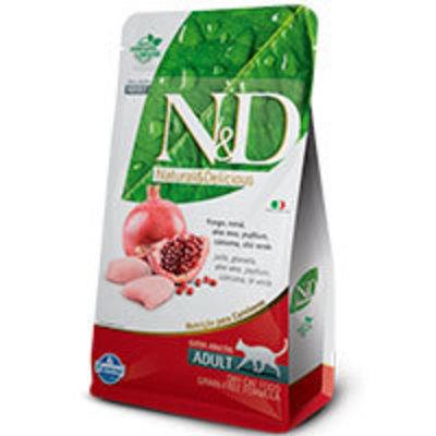 Natural and Delicious Grain Free Feline Adult Pollo y Granada