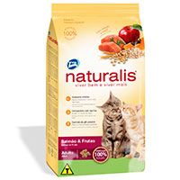 Naturalis Gatos Adultos Salmon y Frutas