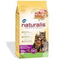 Naturalis Gatos Castrados Pollo y Pavo