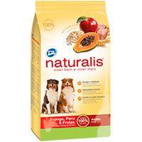 Naturalis Perros Adultos - Pollo, Pavo y Frutas
