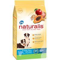Naturalis Perros Cachorros Pollo, Pavo y Frutas