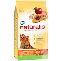 Naturalis Perros Raza Pequeña Pollo, Pavo y Frutas