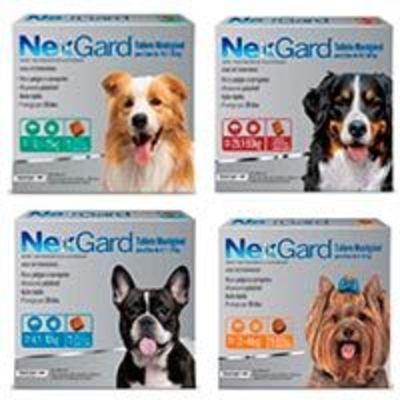 Nexgard 3 Comprimidos Masticables