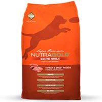 NutraGold Grain Free Turkey and Sweet Potato (Pavo)