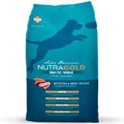 NutraGold Grain Free WhiteFish and Sweet Potato (Pescado)