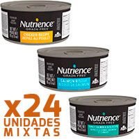 Nutrience Cat SubZero Latas Mix Sabores