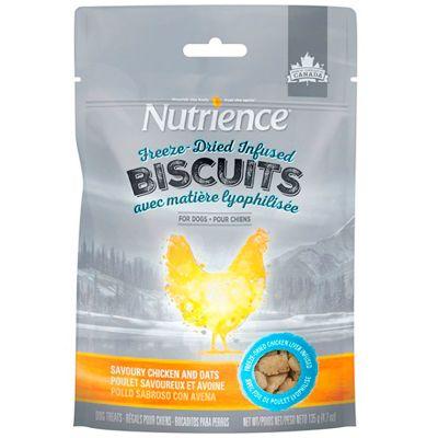 Nutrience Dog Biscuits Pollo y Avena 135gr