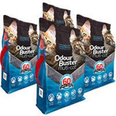 Odour Buster Multi Cat - Arena Sanitaria Super Premium Pack 48kg