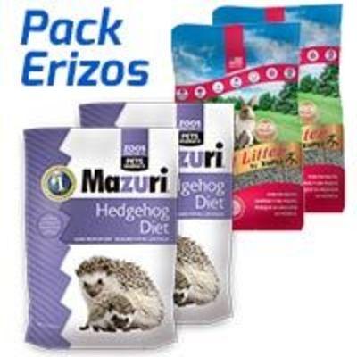 Pack Erizo: Alimento Mazuri + Sustrato