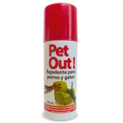 Pet Out Spray – Repelente para Perros y Gatos
