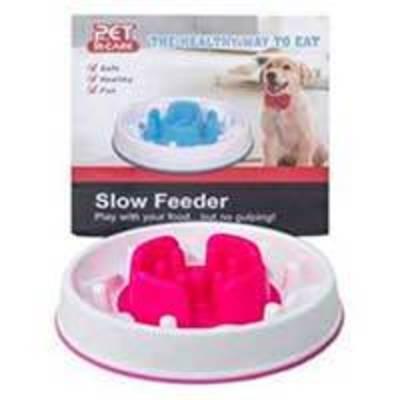 Pet in Care - Plato de alimentación lenta