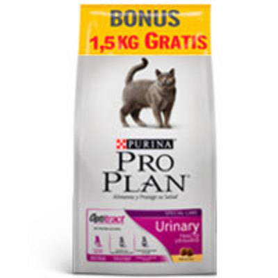 Purina Pro Plan Cat Urinary con OptiTract 7.5kg + 1.5kg GRATIS