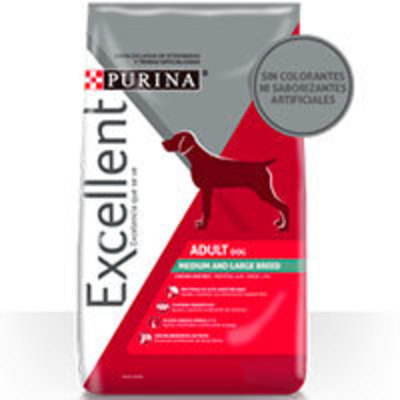 Purina Excellent Adult Chicken & Rice Medium & Large Breed
