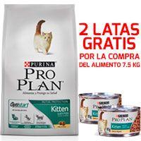 Purina Pro Plan Cat Kitten con OptiStart 7.5KG + ¡LATA GRATIS!
