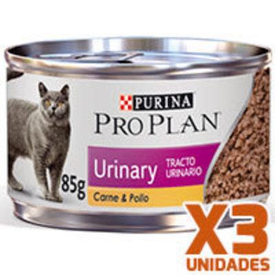 Purina Pro Plan Lata Urinary x 3 Unidades
