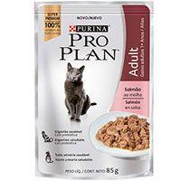 Purina Pro Plan Pouch Adult Cat Salmon en Salsa