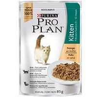 Purina Pro Plan Pouch Kitten Cat Pollo en Salsa