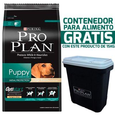 Purina Pro Plan Puppy Large con OptiStar 15KG + Contenedor gratis!
