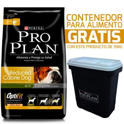 Purina Pro Plan Reduced Calorie con OptiFit + Contenedor Gratis!