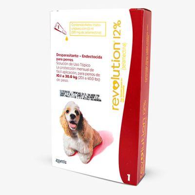 Revolution Antiparasitario para Perros de 10 a 20kg