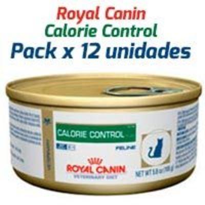Royal Canin Latas Vet Diet Felino Calorie Control x 12 Unidades