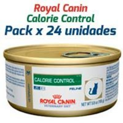 Royal Canin Latas Vet Diet Felino Calorie Control x 24 Unidades