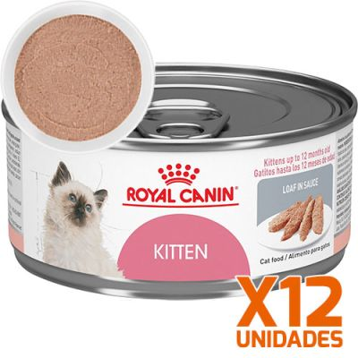 Royal Canin Latas Gatito Kitten Pate Pack 12 Unidades