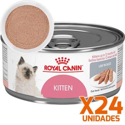 Royal Canin Latas Gatito Kitten Pate Pack 24 Unidades
