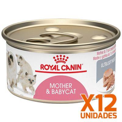 Royal Canin Latas Gatito Mother BabyCat Pack 12 Unidades