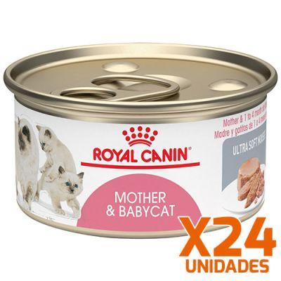 Royal Canin Latas Gatito Mother BabyCat Pack 24 Unidades