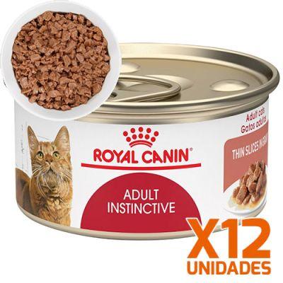 Royal Canin Latas Gato Adulto Instinctive Trozos 85gr Pack 12 Unidades