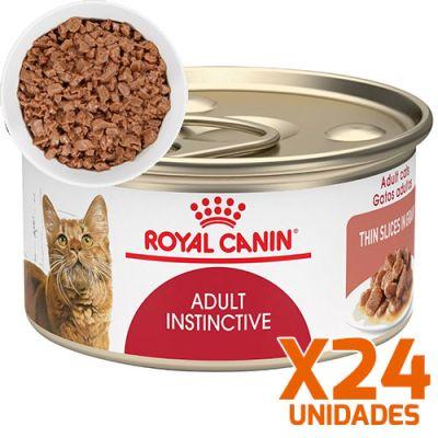 Royal Canin Latas Gato Adulto Instinctive Trozos 85gr Pack 24 Unidades