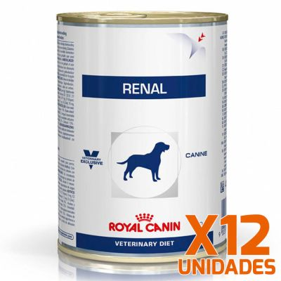 Royal Canin Latas Vet Diet Canine Renal Support x 12 Unidades