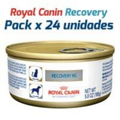 Royal Canin Latas Vet Diet Recovery Feline - Canine x 24 Unidades