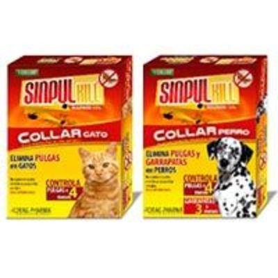SinpulKill - Collar antipulgas para perros o gatos
