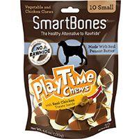 Smart Bones Small 10PK - Con Mantequilla de Maní