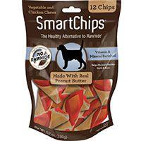Smart Chips 12PK - Con Mantequilla de Maní