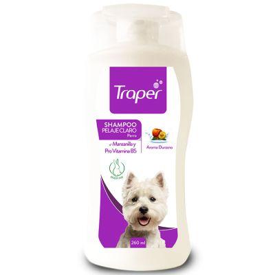 Traper Shampoo para Pelajes Claros 260ml