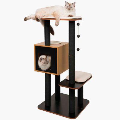 Vesper Furniture V High Negro Rascador para Gatos