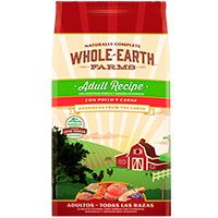 Whole Earth Farms Adulto Pollo Carne