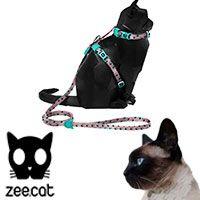 ZeeCat Polka Harness + Leash