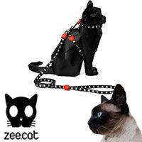 ZeeCat Skull Harness + Leash