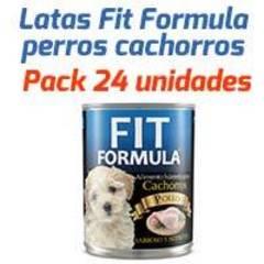 Fit Formula Latas - Para Perros Cachorros - Pack 24 unidades