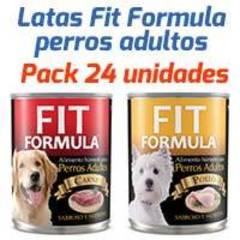 Fit Formula Latas - Surtido Para Perros Adultos - Pack 24 unidades