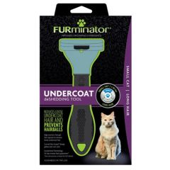 FURminator LONG HAIR deShedding Tools FOR CAT Small