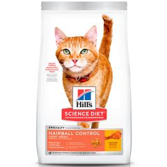 Hills Cat Adult Hairball Control LIGHT