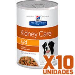 Hills Prescription Diet Latas Canine k/d Renal Pack 10 Unidades